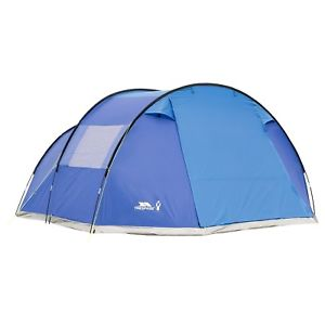 【送料無料】キャンプ用品 2torrisdale 6テントファミリーtrespass torrisdale 6 man tent family camping living space 2 bedroom