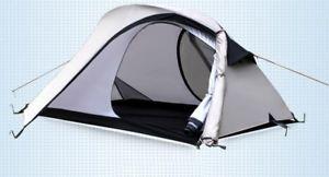 【送料無料】キャンプ用品 2テント 2grey 275kgバックパッキングキャンプテント