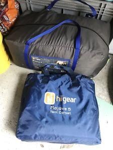 【送料無料】キャンプ用品 ギヤーモハベ5テントhi gear mojave 5 tent