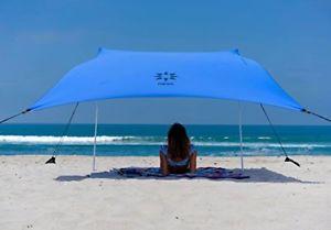 【送料無料】キャンプ用品 アンカーnesoテントポータブルサンタマキビneso beach tent with sand anchor, portable sun shade periwinkle blue, patented