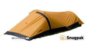 【送料無料】キャンプ用品 テントsnugpak journey solo single person bivvi tent