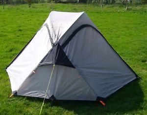 【送料無料】キャンプ用品 2 テントバックパッキングテントキャンプ3シーズンgrey 267kg