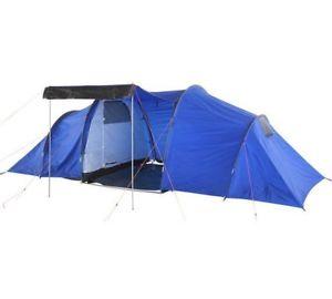 【送料無料】キャンプ用品 2コンパートメント6ポリエステルテントpolyester tent for 6 with 2 compartments blue