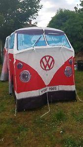 【送料無料】キャンプ用品 キャンピングカーテントvw campervan tent