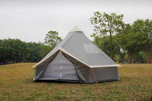 卸売 【送料無料】キャンプ用品 5mテントテントグラウンドシート10ファミリージッパー5m bell tent grey bell with zipped in ground tent sheet 10 berth family camping tent grey, マルス 山梨ワイナリー 公式通販:30d623b4 --- business.personalco5.dominiotemporario.com