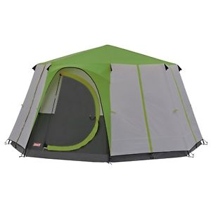【送料無料】キャンプ用品 キャンプglampingcoleman cortes octagon 8 person family tent greencoleman cortes octagon 8 person family tent green glamping lu
