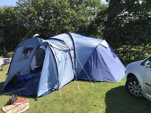 【送料無料】キャンプ用品 グラウンドシートlistingvangoコロラド600dlxドームテント listingvango colorado 600dlx dome tent with ground sheet