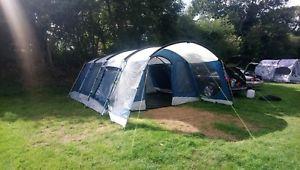 【送料無料】キャンプ用品 6テント6 man family tent used