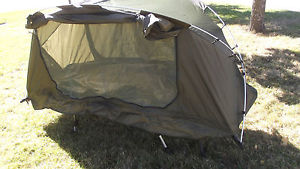 【送料無料】キャンプ用品 1バグテント ground cot tent lightweight camping one man pod bug free water proof pod