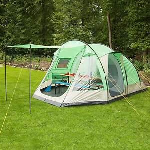 【送料無料】キャンプ用品 skandikaライアン5トンネルテントグラウンドシートメッシュskandika lyon 5 berth man family group tunnel tent sewnin groundsheet mesh