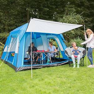 【送料無料】キャンプ用品 skandika tonsberg 5テントグラウンドシートskandika tonsberg 5 person man double layer tent with sewn in groundsheet