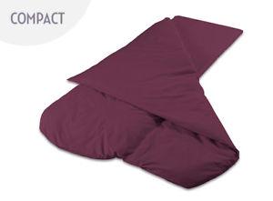 【送料無料】キャンプ用品 duvalay 25cm プラムduvalay 25cm foam summer sleeping bag plum