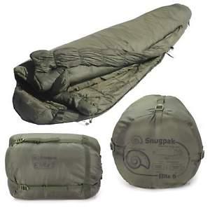 【送料無料】キャンプ用品 snugpakエリート5オリーブgreenlightweightsnugpak softie elite 5 military army sleeping bag olive greenlightweight