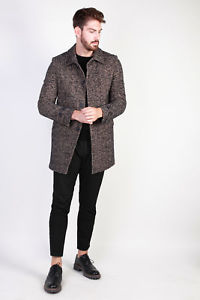 【送料無料】キャンプ用品 イタリアブラウンコートイタリアコート81782made in italia coat made in italia man brown 81782 coats man