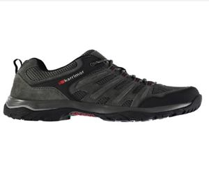 【送料無料】キャンプ用品 ボーダーウォーキングパッドkarrimor men border walking lace up shoes padded ankle collar breathable leather