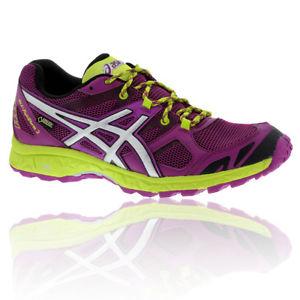 【送料無料】キャンプ用品 アシックスゲルフジストームレディースパープルウォーキングトレッキングシューズasics gel fuji storm 2 gtx womens purple waterproof walking trekking shoes