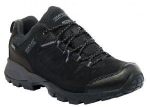 【送料無料】キャンプ用品 メンズウォーキングハイキングブーツregatta holcombe low mens walking hiking boots waterproof breathable comfortable