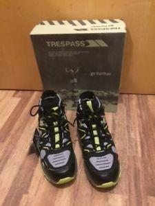 【送料無料】キャンプ用品 トレスパスビンセントメンズウォーキングブーツサイズtrespass vincent mens walking boots size uk 8