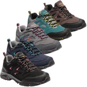 【送料無料】キャンプ用品 レガッタレディースレディースファブリックウォーキングシューズregatta womensladies holcombe iep low waterproof fabric walking shoes