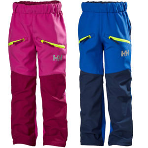 【送料無料】キャンプ用品 ズボンhelly hansen boys amp; girls bergs waterproof softshell walking trousers