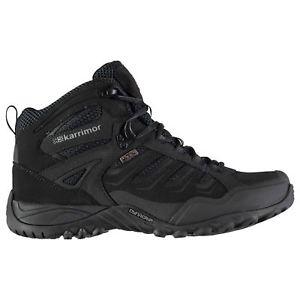 【送料無料】キャンプ用品 ヘリウムウォーキングブーツメンズシューレースkarrimor helium wtx walking boots mens gents laces fastened ventilated water