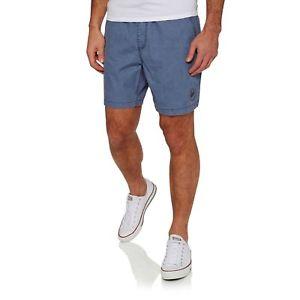 【送料無料】キャンプ用品 メンズショートウォークビンテージインディゴサイズquiksilver tioga mens shorts walk vintage indigo all sizes