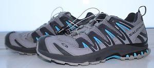 【送料無料】キャンプ用品 メンズグレーサロモントレーナーサイズnearly mens grey salomon xa pro 3d ultra trainers size uk 7