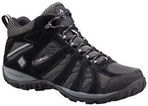 【送料無料】キャンプ用品 コロンビアメンズミッドレザーハイキングブーツcolumbia redmond mens mid leather waterproof hiking boots
