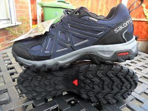 【送料無料】キャンプ用品 メンズサロモンブーツウォーキングmens salomon evasion 2 gtx gortex walking boots uk8 bnwt