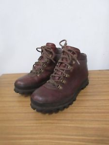 【送料無料】キャンプ用品 クリスブラウンレザーウォーキングブーツサイズchris brasher brown leather walking boots size 85