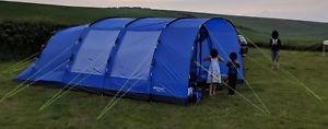 【送料無料】キャンプ用品 eurohike hampton 6テント62kt3 3ebeurohike hampton 6 tent 6 berth used twice kt3 3eb