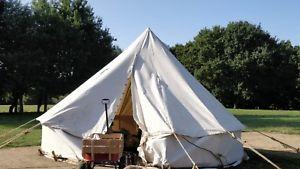 【送料無料】キャンプ用品 キャンバステントモデルglampinglisting4mキャンバステント listing4m canvas bell tent complete glamping camping canvas tent shop model