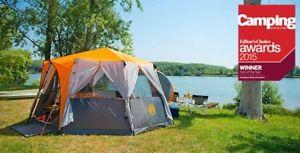 【送料無料】キャンプ用品 テントコールマンコルテス8coleman cortes octagon 8 person big family tent