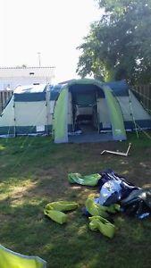 【送料無料】キャンプ用品 4テントfour bedroom tent with porch