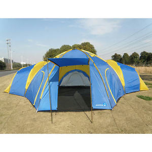 【送料無料】キャンプ用品 peaktop 81031キャンプテントpeaktop 810 persons 31 rooms waterproof large family group camping tent