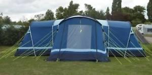 【送料無料】キャンプ用品 kampa tenby 10 10テントmassive blue kampa tenby 10 ten man tent