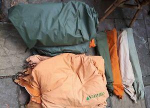 【送料無料】キャンプ用品 4 x vango10テント4 x vango force 10 tents
