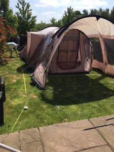 【送料無料】キャンプ用品 moccaネバダm 5テントmocca outwell nevada m 5 birth tent plus porch