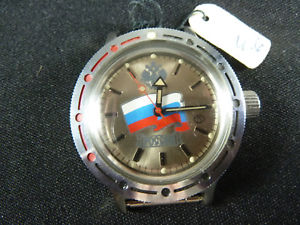 vostok amphibia russia handaufzug made in udssr funktionstchtig 38mm