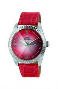 orologio uomo chronotech sign rw0215 pelle rosso