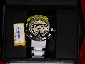 1395 invicta 26516 star wars stainless steel limited edition storm trooper nib