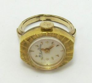 7a098ef0a5 【送料無料】lucien picard オンライン gold plated ring watch size 65 manual  winder:hokushin