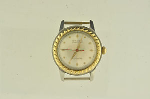 vintage mens gruen wristwatch automatic bumper wind caliber 460ss