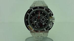 【送料無料】chronotech 7976m02m orologio uomo acciaio chronometro watch chronometer
