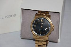 【送料無料】michael kors mens paxton goldtone stainless steel bracelet watch 43mm mk8555