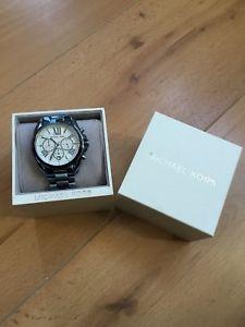 【送料無料】michael kors blue stainless steel watch
