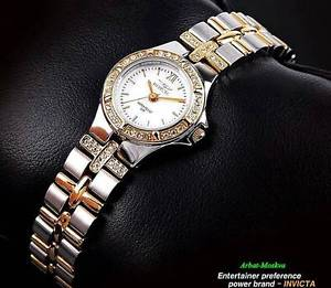 【送料無料】invicta womens wildflower collection goldion plated luxury watch 99500