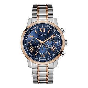 【送料無料】guess w0379g7 mens horizon chronograph wristwatch