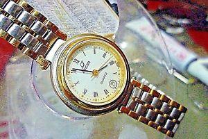 【送料無料】ladies 25mm enicar 7 jewels swiss eta quartz vintage watch