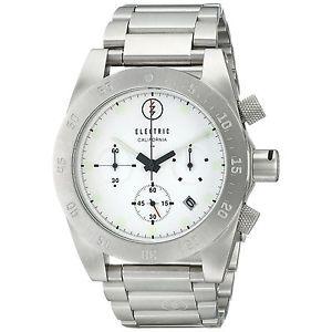 【送料無料】electric mens dw01 ss wrist watch ew003001 wht nwt